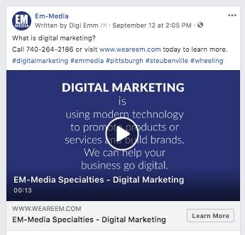 Social Media – Em Media Facebook