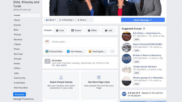 Social Media – GKT Facebook