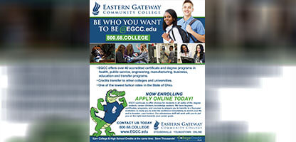 Graphic Design – Print Ad – EGCC
