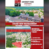 Graphic Design – Print Flyer – University Park