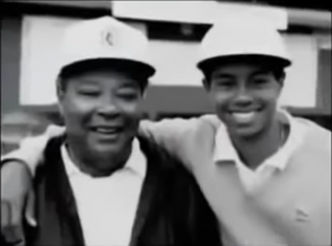 Tiger Woods and Father