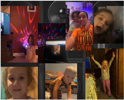 Facebook Dance Party